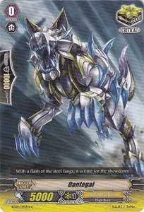 Cardfight Vanguard ENGLISH Clash of the Knights & Dragons Single Card Common BT09/095 Dantegal