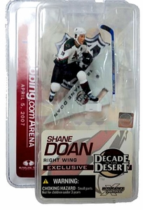 McFarlane Toys NHL Sports Picks 3 Inch Exclusive Mini Figure Decade in the Desert Shane Doan