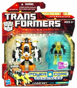 Transformers: Power Core Action Figure 2-Pack Leadfoot with Pinpoint