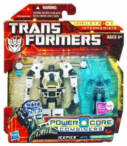 Transformers: Power Core Action Figure 2-Pack Icepick with Chainclaw