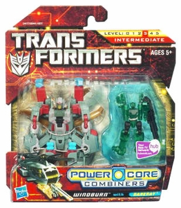 Transformers: Power Core Action Figure 2-Pack Windburn with Darkray