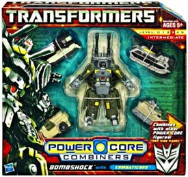 Transformers: Power Core Action Figure Combiner 5-Pack Bombshock with Combaticons