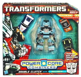 Transformers: Power Core Action Figure Combiner 5-Pack Double Clutch with Rallybots