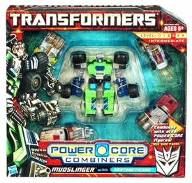 Transformers: Power Core Action Figure Combiner 5-Pack Mudslinger with Destructicons