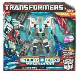 Transformers: Power Core Action Figure Combiner 5-Pack Stakeout with Protectobots