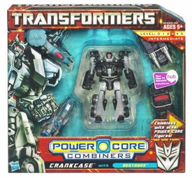 Transformers: Power Core Action Figure Combiner 5-Pack Crankcase with Destrons