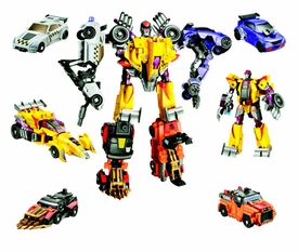 Transformers: Power Core Action Figure Combiner 5-Pack Stunticons