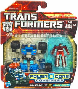 Transformers: Power Core 2011 Action Figure 2-Pack Salvage with Bombburst