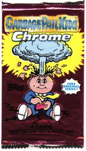Topps Garbage Pail Kids 2013 Chrome Retail Pack