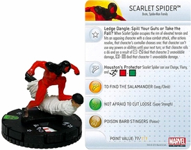 Marvel Heroclix Single Figure #018 Scarlet Spider