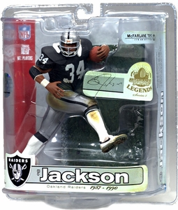 McFarlane Toys NFL Sports Picks Legends Series 3 Action Figure Bo Jackson (Los Angeles Raiders)