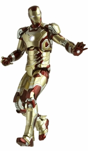 Iron Man 3 Play Imaginative Super Alloy 1/12 Scale Collectible Figure Iron Man Mark 42 Pre-Order ships April