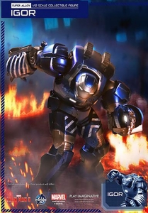 Iron Man 3 Play Imaginative Super Alloy 1/12 Scale Collectible Figure Iron Man MK 38 Igor Pre-Order ships October