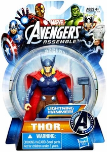 Marvel Avengers Assemble Action Figure Lightning Hammer Thor