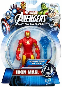 Marvel Avengers Assemble Action Figure Repulsor Blast Iron Man
