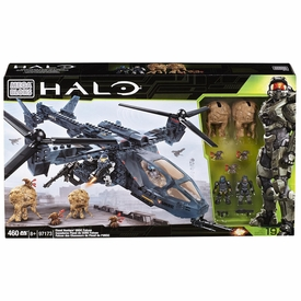 Halo Mega Bloks Exclusive Set #97173 Flood Hunter's UNSC Falcon