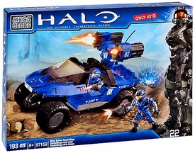 Halo Mega Bloks Exclusive Set #97159 Blue Series Rockethog