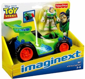 Imaginext Disney / Pixar Toy Story Figure 2-Pack RC & Buzz Lightyear