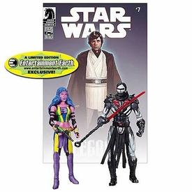 Star Wars Exclusive Comic Book Action Figure 2-Pack Dark Horse: Deliah Blue & Darth Nihl