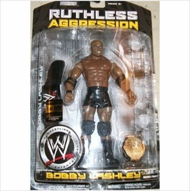 WWE Wrestling Ruthless Aggression Series 27 Action Figure Bobby Lashley