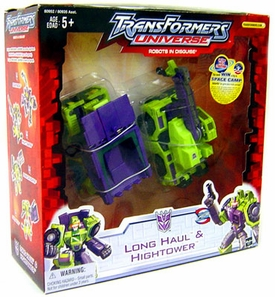 Transformers Universe Robots In Disguise Construction 2-Pack Long Haul & Hightower