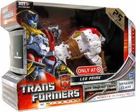 Transformers Universe Exclusive Voyager Figure Leo Prime [White]