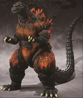 Godzilla Bandai S.H. Monsterarts 6 Inch Action Figure Burning Godzilla