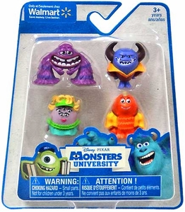 Disney / Pixar Monsters University Exclusive 1 Inch Mini Figure 4-Pack Art, Ms. Squibbles, George Sanderson & Johnny Worthington III