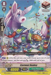 Cardfight Vanguard ENGLISH Clash of the Knights & Dragons Single Card Common BT09/092 Castanet Donkey