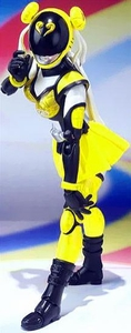 Akiba Ranger S.H. Figuarts Action Figure Akiba Yellow [Season 2 Version] Pre-Order ships March