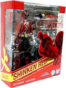 Power Rangers Samurai S.H. Figuarts Exclusive Action Figure Shinken Red