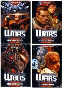 WARS Trading Card Game Incursion 4 Starter Deck Combo [Swarm, Suppression, Alliance, Solidarity]