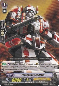Cardfight Vanguard ENGLISH Clash of the Knights & Dragons Single Card Common BT09/079 Emergency Vehicle