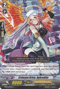 Cardfight Vanguard ENGLISH Clash of the Knights & Dragons Single Card Common BT09/076 Crimson Drive, Aphrodite