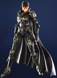 Man of Steel Square Enix Play Arts Kai Action Figure Faora
