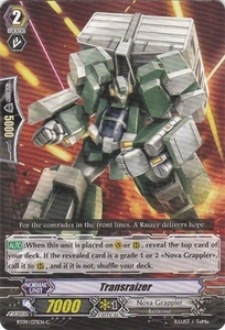 Cardfight Vanguard ENGLISH Clash of the Knights & Dragons Single Card Common BT09/071 Transraizer