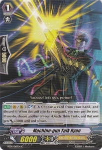 Cardfight Vanguard ENGLISH Clash of the Knights & Dragons Single Card Common BT09/067 Machine-gun Talk, Ryan