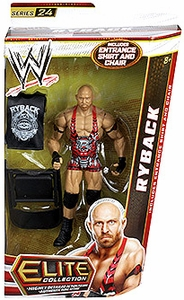 Mattel WWE Wrestling Elite Series 24 Action Figure Ryback [Entrance Shirt & Chair!]