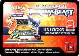 Pokemon Plasma Blast Promo Code Card for Pokemon TCG Online