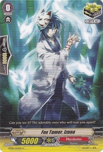 Cardfight Vanguard ENGLISH Clash of the Knights & Dragons Single Card Common BT09/052 Fox Tamer, Izuna