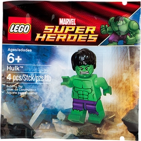 LEGO Marvel Super Heroes Exclusive Set #6001095 Hulk with Ripped Purple Pants [Bagged]