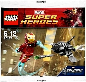 LEGO Marvel Super Heroes Exclusive Set #30167 Iron Man Vs. Drone [Bagged]