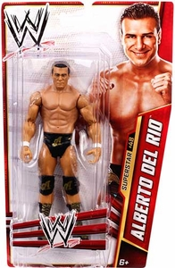 Mattel WWE Wrestling Basic Series 31 Action Figure #48 Alberto Del Rio