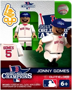 OYO Baseball MLB Generation 2 Building Brick Minifigure 2013World Series Champions Jonny Gomes [Boston Red Sox]
