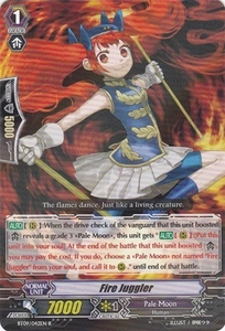Cardfight Vanguard ENGLISH Clash of the Knights & Dragons Single Card Rare BT09/042 Fire Juggler