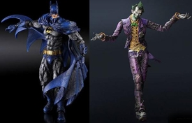 Batman Arkham CITY Series 4 Set of Both Square Enix Play Arts Kai Action Figures [70's Batman & Joker] Pre-Order ships April