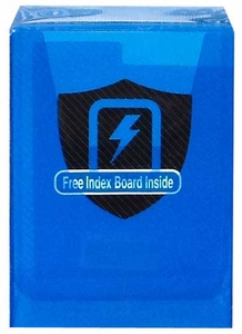 Max Protection Card Supplies Deck Box Transparent Blue