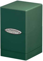 Ultra Pro Card Supplies Satin Tower Green Deck Box