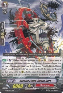 Cardfight Vanguard ENGLISH Clash of the Knights & Dragons Single Card Rare BT09/022 Stealth Fiend, Oboro Cart