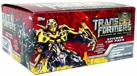 Topps Transformers: Revenge of the Fallen Movie Trading Cards Box [24 Fun Packs]